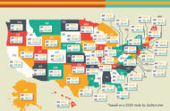 What is the Average Salary for a Lawyer in Each U.S. State?