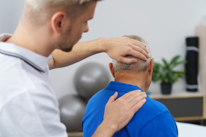 Neck pain and spinal injuries after a car accident