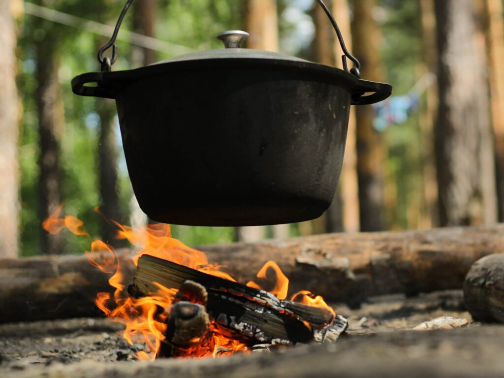 A Boy Scout's Guide to Woodfire and Dutch Oven Cooking