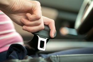 Seat belt usage increases your chances of surviving a serious accident by forty-five percen