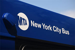 Mta bus strikes and kills a bicyclist in brooklyn, new york
