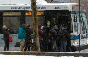 Mta bus accident in morris heights