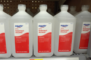 Soho fresh rubbing alcohol recalled