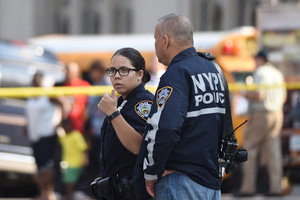 Pedestrian hit-and-run accident on shepard avenue in brooklyn