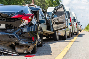 Rear-end collision on the brooklyn expressway kills passenger