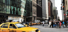 Fatal pedestrian accident in times square