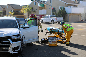 T-bone accident caused by impatient drivers