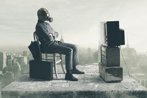 Television sets are full of toxic chemicals such as organohalogen