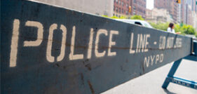 Hit and run pedestrian accident on upper west side avenue