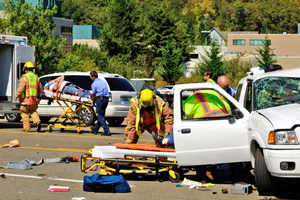 T-bone accident injures two in kensington new york