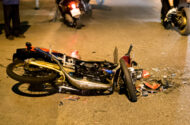 Taxi-Motorcycle Accident in Brooklyn, New York